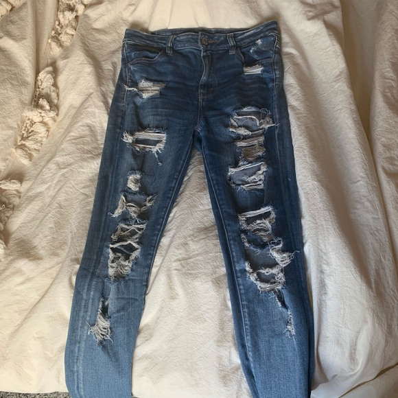 American Eagle Outfitters Denim - American Eagle Hi-Rise Jegging